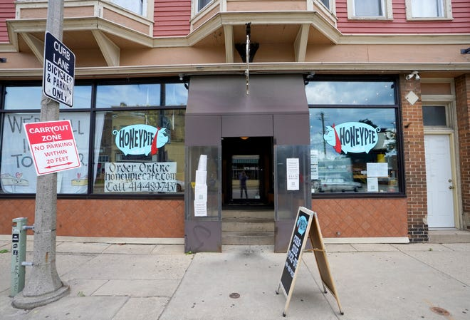 Honeypie restaurant, 2643 S Kinnickinnic Ave., will be open through Sunday at its current location. It will be closed for some weeks until it's settled in its new home, a scant two blocks away.