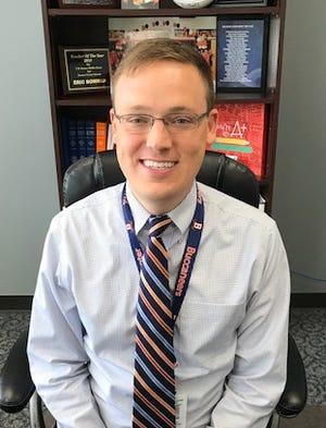 T.W. Hunter Middle School Principal Eric Bowman