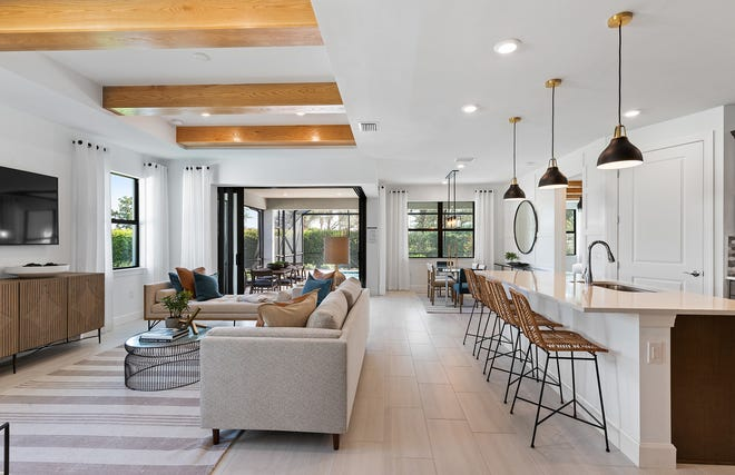Affordable homes at Manatee Cove by Pulte Homes will showcase quality design, attractive one- and two-story floor plans and blended living and dining areas.