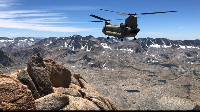 Members of the Fresno County Sheriff's Search and Rescue (SAR) team recovered the body of Paul Sheykhzadeh, 52, of Reno who fell while climbing Mount Humphreys Aug. 2, 2020.