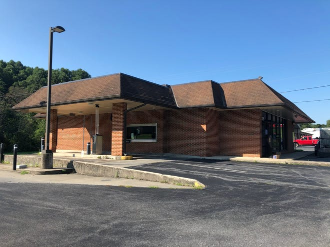 The former F&M Bank in Craigsville, which closed Aug. 3, 2020.