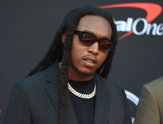 Start (seen here in 2019), a rapper with the popular hip-hop group Migos, has been accused of raping a woman at an LA party in June.