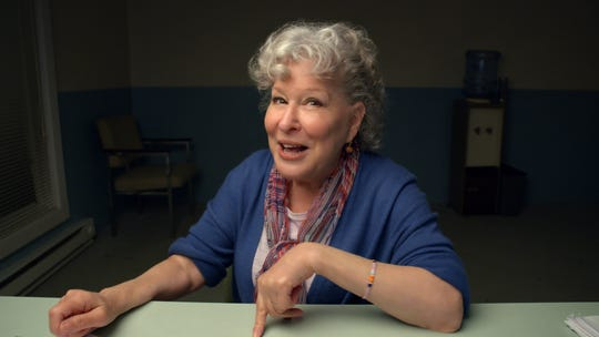 "Bette Midler in HBO's ""Coastal Elites,"" a comedy from HBO that was filmed entirely in quarantine."
