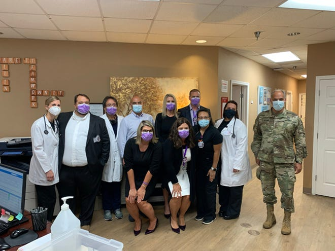 Operation Warp Speed, the Washington, D.C., team working to deliver the COVID-19 vaccine, visited Savannah's Meridian Clinical Research last month. The clinic was the first vaccination site in the country.