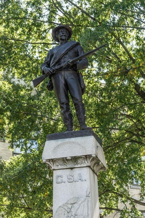 Lexington Mayor Newell Clark will hold a press conference on Aug. 13 to announce action concerning the relocation of the Confederate statue in uptown Lexington.