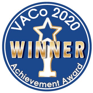 """Dinwiddie County wins a Virginia Association of Counties' """"Best Small County"""" 2020 Achievement Award for its Faith-Based Initiative. [Contributed Photo]"""