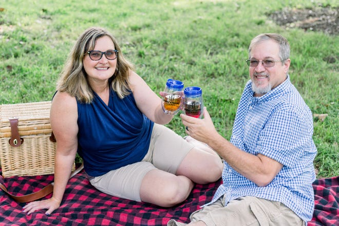 Tonya Haley, a second-generation beekeeper, and her husband, Mike, have a shared passion for all things honey. They run Haley's Honey Meadery in Hopewell as a side occupation — she teaches English at Colonial Heights Middle School, and he is an x-ray technician at Fort Lee.