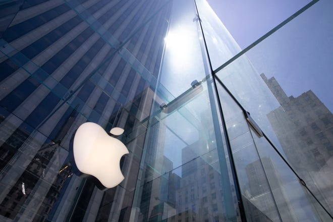 With its stock already up 50% this year, Apple is on the cusp of becoming the first U.S. company to boast a market value of $2 trillion, just two years after it became the first to reach $1 trillion.
