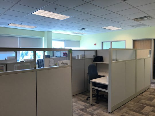 OneCare's empty offices on Watertower Hill in Colchester, as seen on Aug. 6, 2020.