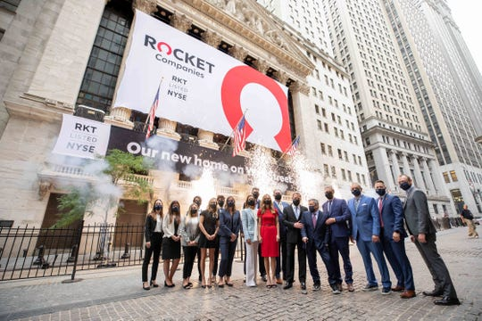 Rocket Companies, Inc. Rings The Opening Bell 