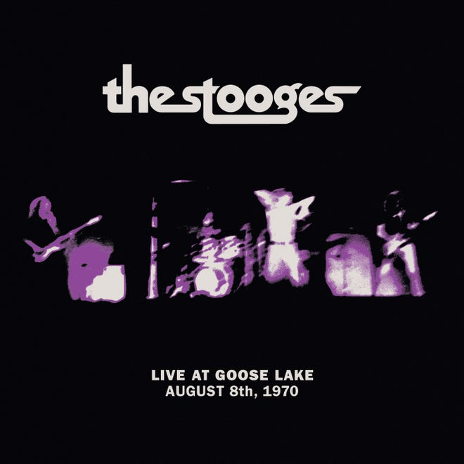 "The album cover of ""The Stooges: Live at Goose Lake,"" an Aug. 8, 1970, performance released last week by Third Man Records."