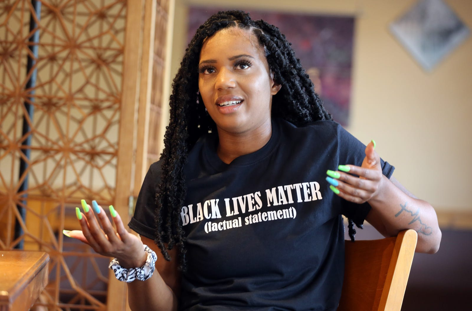 Alexsis Vinson shares her thoughts on being a responsible activist in Shelby, North Carolina.