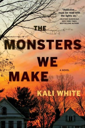 """""""The Monsters We Make,"""" a novel published by Kali White VanBaale on Aug. 11, 2020"""
