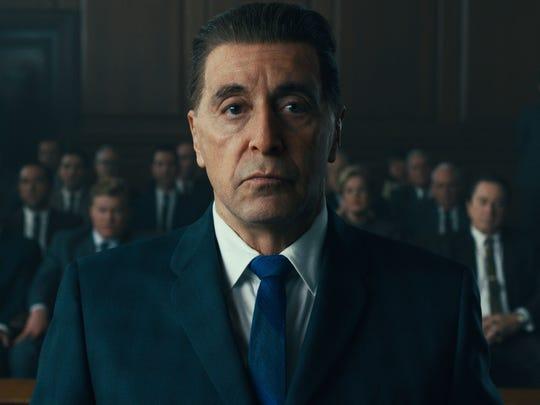 """Big as Elvis? Al Pacino is Jimmy Hoffa in """"The Irishman."""""""