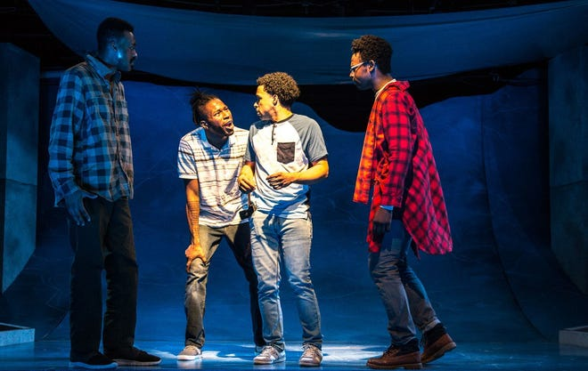 """A reading of James Ijames' """"Kill Move Paradise"""" will be part of Milwaukee Chamber Theatre's Milwaukee Black Theater Festival. This photo is from a 2018 Know Theatre production in Cincinnati."""
