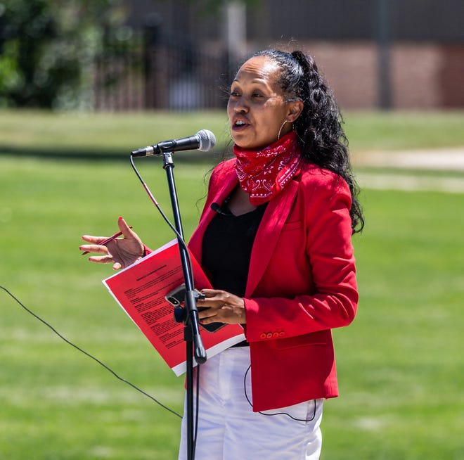 Kimberley Motley is representing the 26-year-old man who was injured in the Kenosha shooting during a protest Tuesday night.