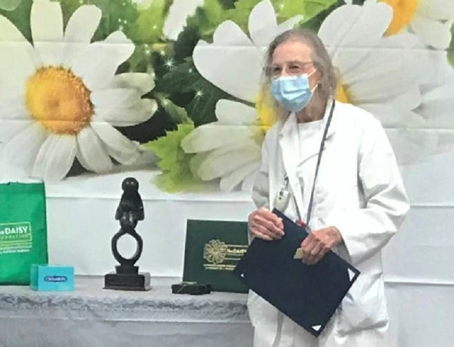 Lucy Depriest, RN recently earned the Daisy Lifetime Achievement Award.