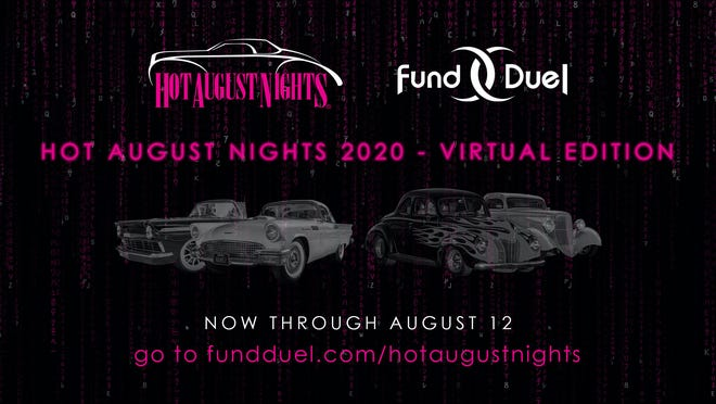 This year's event, Hot August Nights, is happening virtually, and participants are encouraged to show off their classic vehicles online.