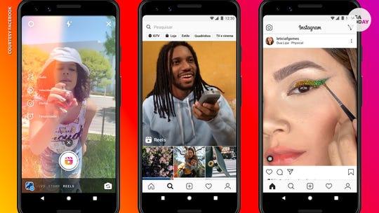 Facebook's Instagram Reels