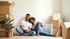 A couple instances could signal that you and your partner are ready to merge finances, like moving in together.
