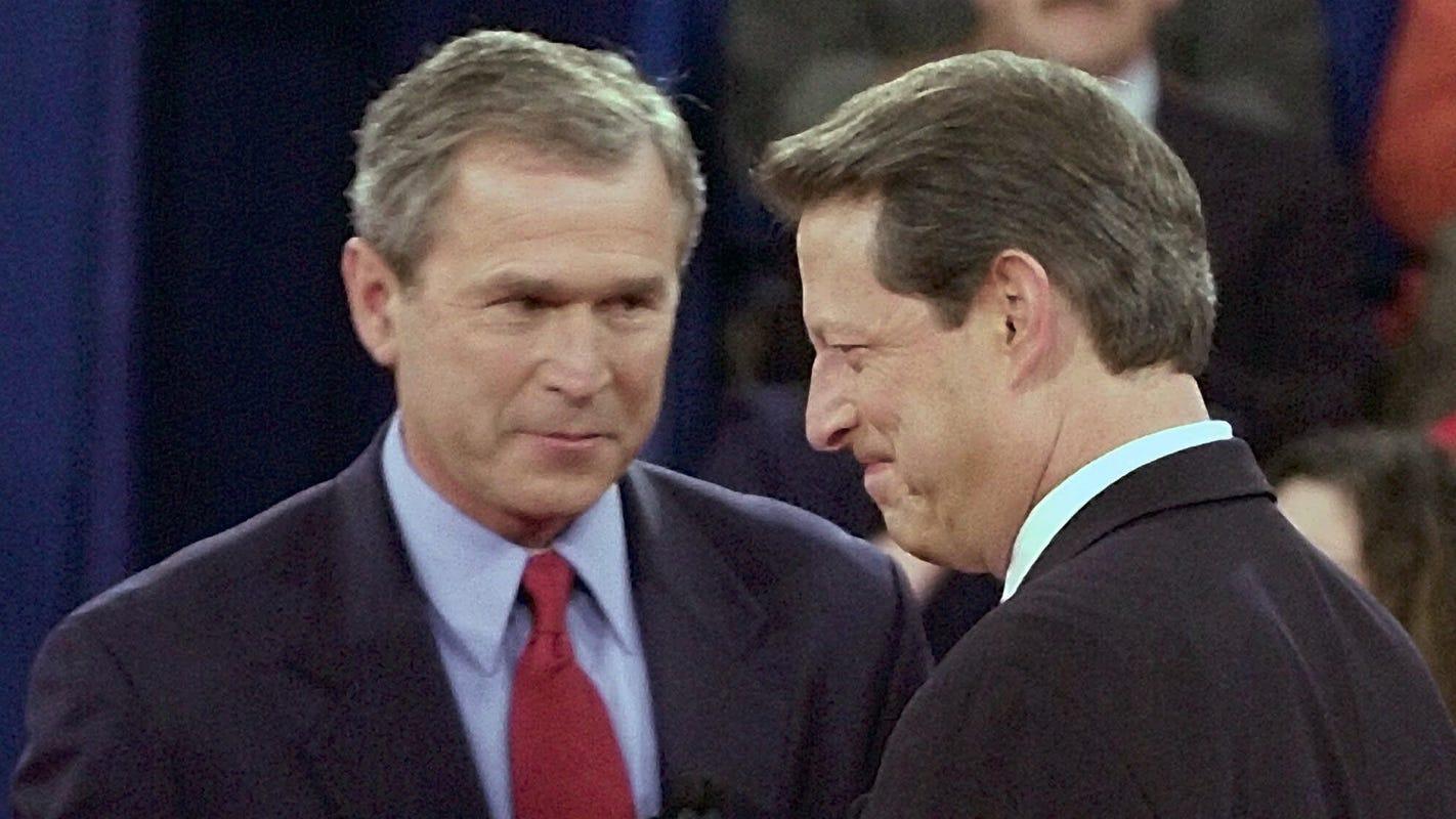 Enlist George W. Bush and Al Gore to help us prevent a Trump-Biden nightmare in 2020