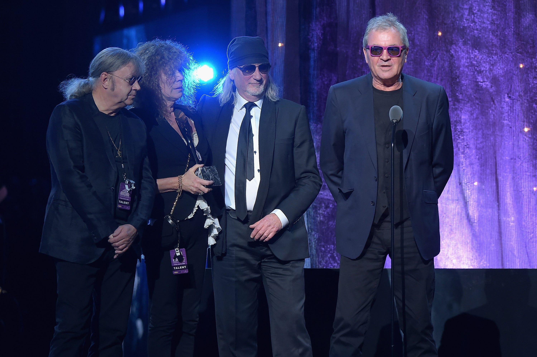 Deep Purple formed in 1968 in England, helping to pioneer modern hard rock.