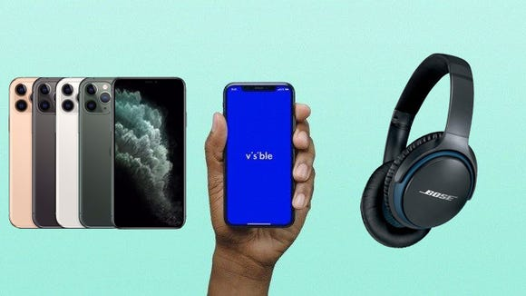 Visible is offering free Bose headphones with their affordable phone plans.