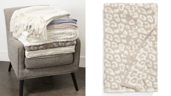Get the web-favorite Barefoot Dreams throw at a discount.