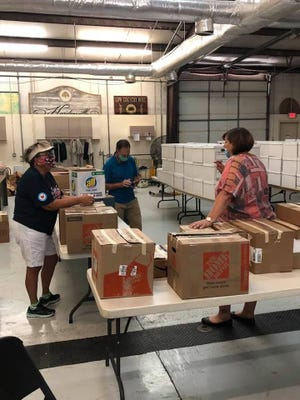 In preparation for the school year, the Hardeeville Parks, Recreation and Tourism Department hosted its annual Fill the Bus donation drive over the past few weeks.