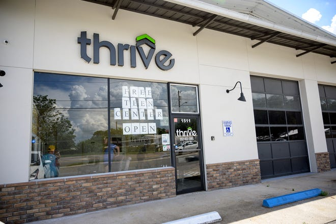 Right now, the Thrive Teen Center is open Monday through Friday 3 p.m. to 8 p.m at 1511 South St. in Leesburg. [Cindy Peterson/Correspondent]
