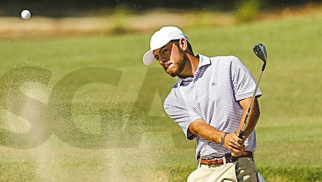 Jordan Batchelor, a former ASUN conference champion at UNF and now an assistant coach for the Ospreys, is tied for second after the second round of the Florida Open.