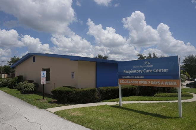 Lakeland Regional Health started offering rapid COVID-19 testing Wednesday at its Respiratory Care Center, located at 320 Parkview Place in Lakeland. [PROVIDED PHOTO]