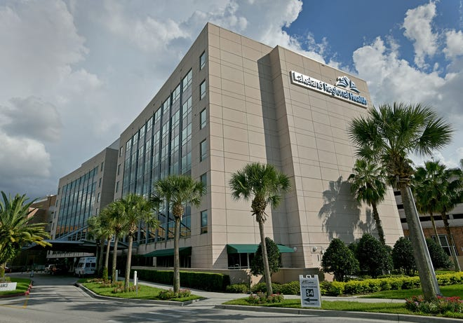 Lakeland Regional Health Medical Center saw a roughly $45 million drop, or 25% decrease, in net revenue from patient services between April 1 to June 30 compared to the previous financial quarter due to the COVID-19 pandemic. [FILE PHOTO/THE LEDGER]