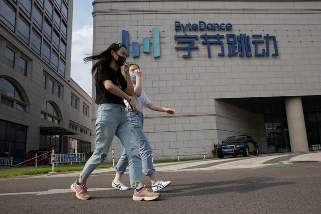 President Donald Trump has ordered a sweeping but unspecified ban on dealings with the Chinese owners of consumer apps Bytedance's TikTok and WeChat.