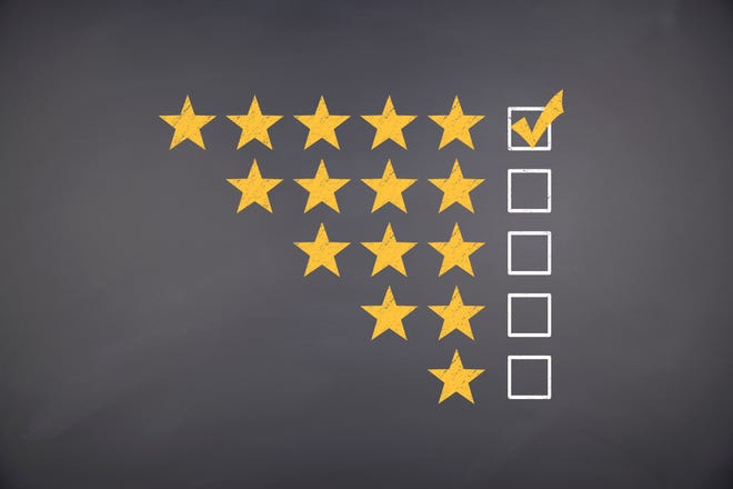 There's lots of good information on real estate websites, but ratings of individual agents probably aren't worth much.