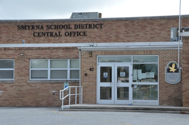 The Smyrna School District Central Office on Monrovia Avenue in Smyrna.