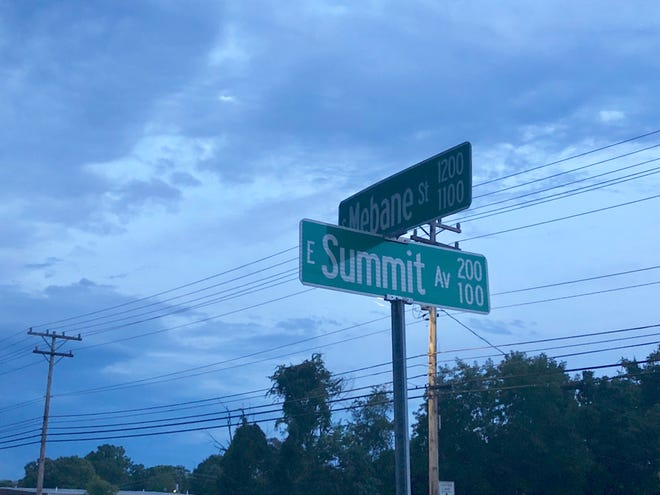 One person died and three were seriously injured in a car accident at the intersection of Mebane Street and Summit Avenue on Thursday, Aug. 6.
