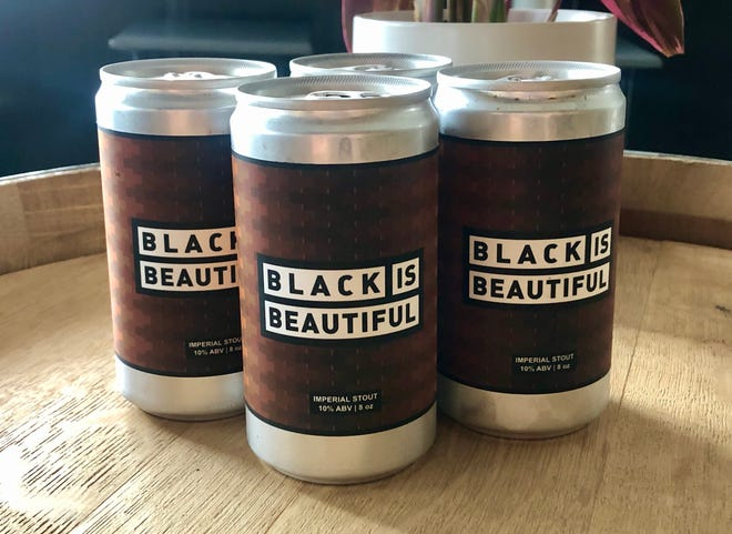 Black is Beautiful, a 10% ABV Imperial Stout, is brewed at Forgotten Road Ales as part of a global brewing initiative supporting the Black community. Proceeds will be donated to local NAACP and National Association of Black Veterans chapters.