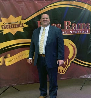 Chad Konkle is the new superintendent of the Ross Local  Schools.