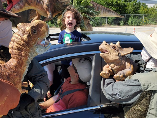 The dinosaurs have adapted.Instead of hosting an indoor exhibit, Jurassic Quest will take to Coney Island Amusement Park as a drive-thru event.