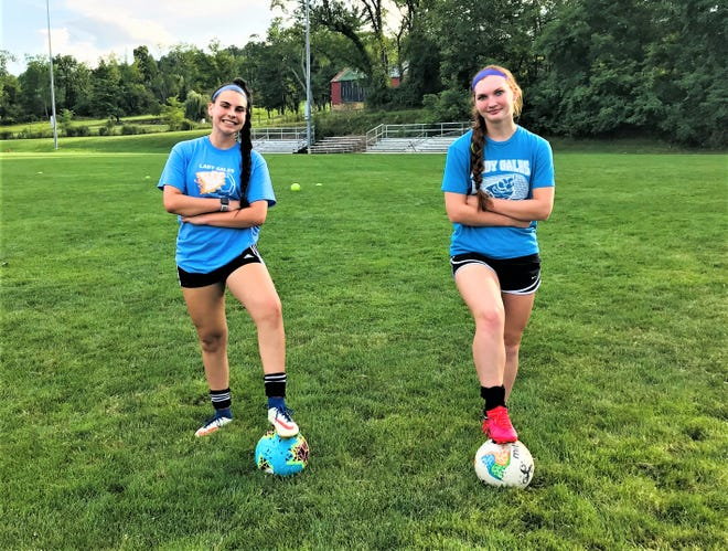 Lancaster seniors, Tori Spires and Josselyn Jewell have both overcame major knee injuries to get back on the soccer field.