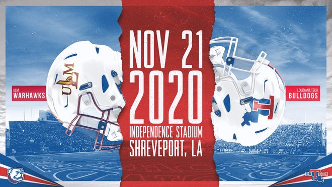 Louisiana Tech and ULM have agreed to play on Nov. 21 at Independence Bowl Stadium in Shreveport.
