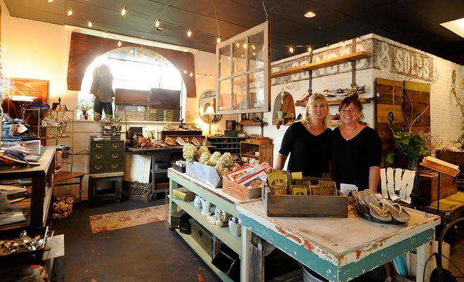 Sisters Kelly Nash and Kimberly Robinson opened Sister Salvage & Soles on May 2019 on South Main Street in Granville. They are soon to move across the street to the former site of the Granville Lumber Company.