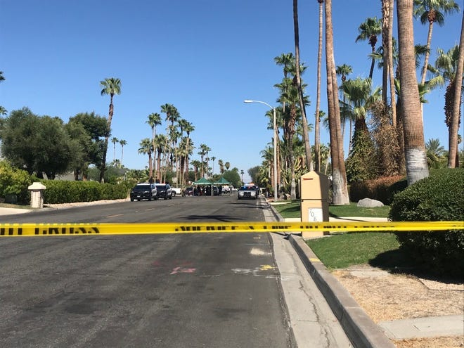 A deputy-involved shooting occurred in the 70000 block of Tamarisk Lane in Rancho Mirage, the Riverside County Sheriff's Department said Friday.