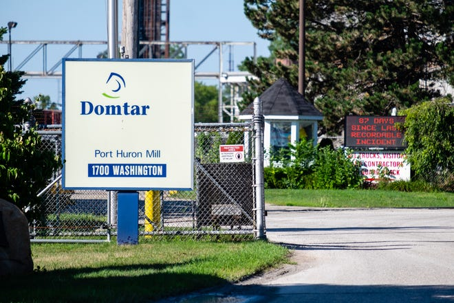 Domtar has made the decision to shut down operations in Port Huron. Approximately 200 people working at the mill will lose their jobs.