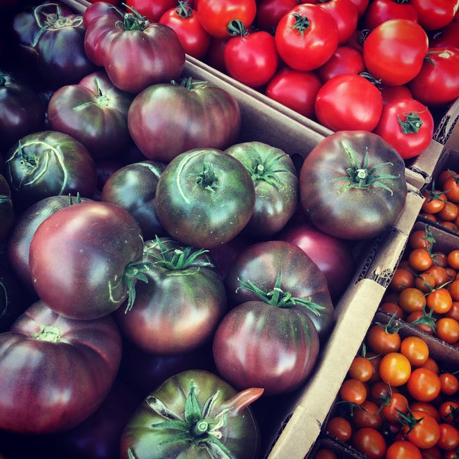 As part of Local Food Week, Aug. 9-15, 2020, in Reno, NevadaGrown is giving away tomatoes, while they last, at the Sparks United Methodist Church farmers market on Tuesday, Aug. 11.