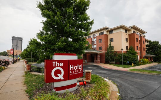 Missouri State University will be quarantining students who test positive for COVID-19 at the Q Hotel & Suites at 1117 E. St. Louis St.