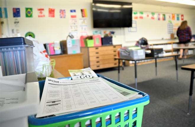 Dominique Biello-Rivera is a teacher at Visalia's Global Learning Charter School. She has been preparing to welcome her students back on a virtual platform.