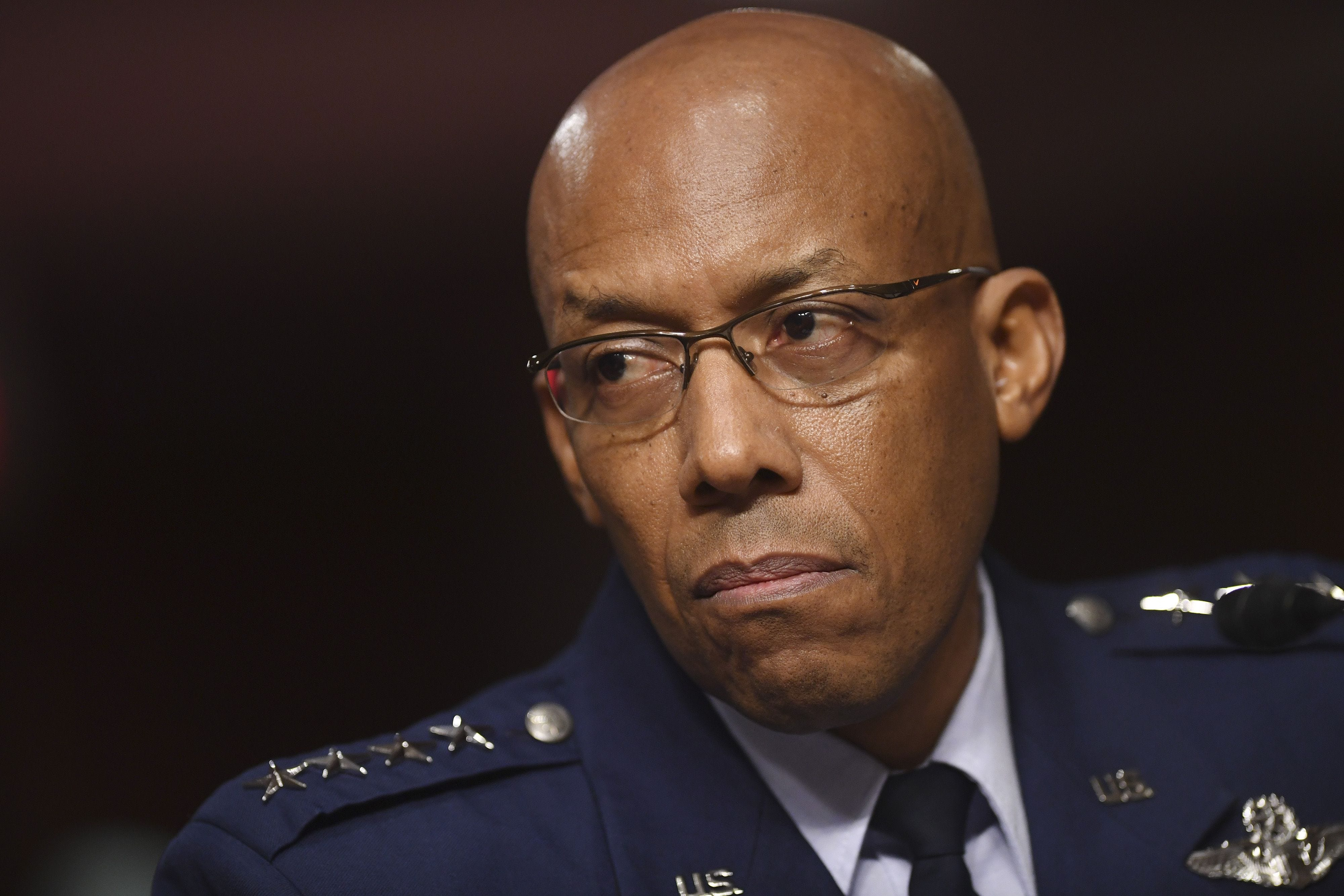 Air Force general CQ Brown becomes first Black...