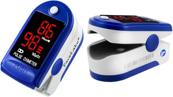 You may not need the Facelake oximeter's one-year warranty, but it doesn't hurt.